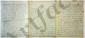 Jeanne Louise Genet, Madame CAMPAN. L.A., [Saint-Germain-en-Laye] 2 août [vers 1798-1799 ?], à Mme Louise de BEAUVAU (princesse de POIX) à Paris ; 7 pages in-4, adresse (nom de la destinataire biffé).