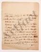 Charles de Secondat, baron de La Brède et de MONTESQUIEU. L.A.S., Paris mercredi matin [septembre ? 1734, à Madame de TENCIN] ; 2 pages in-4. [CM 410]