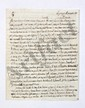 Marie-Joseph de LAFAYETTE. L.A.S. « L.F. », La Grange 6 novembre 1819, [au marquis de LALLY-TOLENDAL] ; 4 pages in-4.
