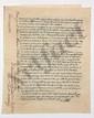 [LOUIS XVI et MARIE-ANTOINETTE]. 2 P.S. par le comte Élie DECAZES, ministre secrétaire d'État de la Police générale, Paris 28 février et 10 avril 1816 ; 4 et 3 pages in-4, cachets secs aux armes de Louis XVIII.