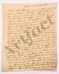Alexandre MACDONALD (1765-1840) duc de Tarente, maréchal d'Empire. 9 L.A.S., 1820-1828, à Trophime-Gérard de LALLY-TOLENDAL ; 12 pages in-4.