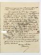 Louis-Antoine-Victor MALOUET (1780-1842) administrateur. 8 L.A.S. et 1 P.S., 1817-1824 et s.d., à Trophime-Gérard, marquis de LALLY-TOLENDAL ; 19 pages in-4, qqs adresses.