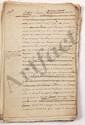 [Jacques NECKER (1732-1804) financier, contrôleur général et ministre des Finances]. Trophime-Gérard de LALLY-TOLENDAL. MANUSCRIT en partie autographe avec corrections et additions autographes d'Auguste de STAËL (1790-1827), Necker, [1822], avec 2