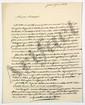 Hyacinthe de QUELEN (1778-1839) archevêque de Paris, pair de France (de l'Académie française). 2 L.A.S., Paris 1825, au marquis Trophime-Gérard de LALLY-TOLENDAL ; 2 pages et demie in-4.