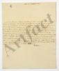 Armand-Emmanuel du Plessis, duc de RICHELIEU (1766-1822) homme politique, Président du Conseil à la Restauration. 16 L.A.S., 3 L.S. et 5 lettres dictées, 1815-1822, au marquis de LALLY-TOLENDAL, avec 20 lettres ou pièces jointes, principalement