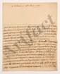 François, comte de BULKELEY (1686-1756) lieutenant général au service de France. L.A., Orléans 14 mai 1736, au Président de MONTESQUIEU à Paris ; 3 pages in-4, adresse avec cachet cire rouge aux armes (brisé). [CM 439]