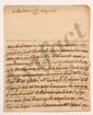 François, comte de BULKELEY (1686-1756) lieutenant général au service de France. L.A., Londres 20 mai 1737, au Président de MONTESQUIEU à Paris ; 3 pages in-4, adresse avec cachet cire rouge (brisé). [CM 468]