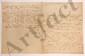 Thomas-Arthur de LALLY-TOLENDAL. L.A.S. et 5 L.S., Paris et Fontainebleau août-octobre 1762, à M. PARENT (premier commis des Finances) ; 16 pages in-4, 2 adresses dont une avec cachet cire rouge aux armes.