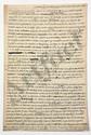 Thomas-Arthur de LALLY-TOLENDAL. MANUSCRITS autographes (brouillons), [vers 1763-1765] ; 38 pages in-fol. (petits manques en haut de qqs feuillets).
