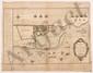 Thomas-Arthur de LALLY-TOLENDAL. MANUSCRIT autographe, Abregé militaire de mon expedition dans l'Inde depuis le 1er janvier 1757 jusques au 16 janvier 1761, [vers 1762-1765] ; au verso et dans les marges d'une carte gravée, 46 x 58 cm (petite fente à