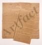 Thomas-Arthur de LALLY-TOLENDAL. MANUSCRIT autographe, Cent preuves que Mr de Lally ne s'est jamais melé directement ny indirectement de l'administration civile ou pecuniaire du comptoir de Pondichery..., [vers 1763-1765] ; 16 pages petit in-fol.