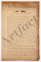 Thomas-Arthur de LALLY-TOLENDAL. 3 MANUSCRITS avec ANNOTATIONS ET ADDITIONS autographes, [vers 1763-1765] ; 24 pages grand in-fol. ou in-fol. (bord d'un feuillet effrangé), sous chemise titrée : Copie de lettres de M. le Cte Daché à M. le Cte de