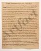Thomas-Arthur de LALLY-TOLENDAL. 3 MANUSCRITS autographes pour le Résumé de la capitulation de Pondichéry, [vers 1766] ; 25 pages in-fol. ou in-4.