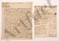 [Thomas-Arthur de LALLY-TOLENDAL]. 8 lettres ou pièces, 1759-1767 et s.d., réunies par Trophime-Gérard de Lally-Tolendal sous une chemise titrée « Notes sur mon père ».