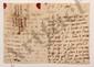 Marguerite de Texier, Mme LEFRANC DE BRUNPRÉ, femme de Jean-Gérard Lefranc de Brunpré, seigneur de Baillon (1691-1756) secrétaire du Roi. L.A., [Baillon] 1er août [1734], au président de MONTESQUIEU à Paris ; 2 pages et demie in-8, adresse avec