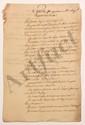 [Thomas-Arthur de LALLY-TOLENDAL]. Plus de 400 lettres ou pièces (2 imprimés), la plupart relatives à sa succession, 1761-1812 ; environ 1000 pages in-fol. ou in-4 (mouillures ou défauts à plusieurs pièces).