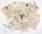 ACADEMIE FRANÇAISE. 17 lettres, la plupart L.A.S., 1806-1827, à Trophime-Gérard de LALLY-TOLENDAL.