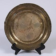 A Sterling Silver Salver