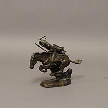 Franklin Mint Remington Bronze