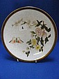An attractive Royal Worcester plate in the
