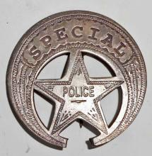 OLD WEST STYLE SPECIAL POLICE BADGE