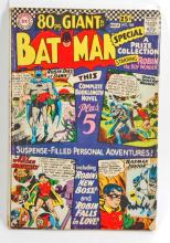 VINTAGE 1966 BATMAN COMIC BOOK NO. 185 - 25 CENT COVER