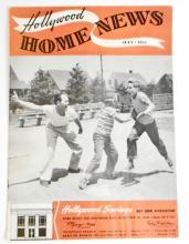 1955 VINTAGE HOLLYWOOD HOME NEWS MAGAZINE