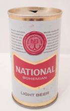 VINTAGE NATIONAL BOHEMIAN PULL TAB ADVERTISING BEER CAN
