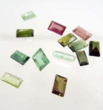 LOT OF 3.38 CTS OF MULTI COLORED NIGERIA TOURMALINES