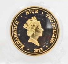 SPIDERMAN GOLD CLAD COLLECTABLE COIN