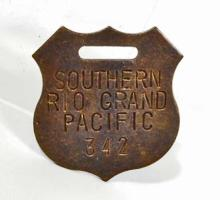 SOUTHERN RIO GRAND PACIFIC WATCH FOB