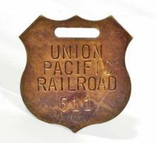 UNION PACIFIC RAILROAD WATCH FOB
