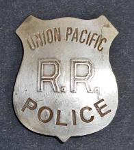 UNION PACIFIC R.R. POLICE BADGE