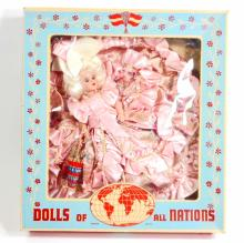 VINTAGE DOLLS OF ALL NATIONS DOLL IN ORIGINAL BOX