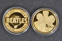 THE BEATLES COMMEMORATIVE COIN