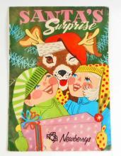 VINTAGE CHILDRENS CHRISTMAS STORY BOOK SANTAS SURPRISE