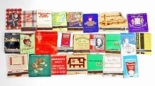 LOT OF 25 VINTAGE MATCH BOOKS