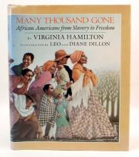 MANY THOUSANDS GONE HARDCOVER BOOK W/ DUSTJACKET