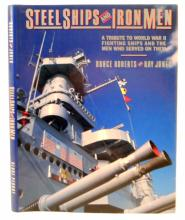STEEL SHIPS AND IRON MEN HARDCOVER BOOK