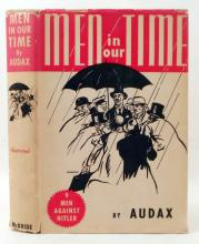 1940 MEN IN OUR TIME HARDCOVER BOOK