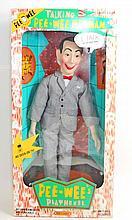 VINTAGE PEE WEE HERMAN TALKING DOLL IN ORIGINAL BOX