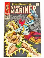 1968 SUB MARINER NO. 4 COMIC BOOK - 12 CENT COVER