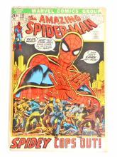 1972 THE AMAZING SPIDERMAN NO. 112 COMIC BOOK - 20 CENT COVER