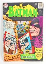 1965 BATMAN NO. 173 COMIC BOOK - 12 CENT COVER