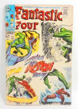 1968 FANTASTIC FOUR NO. 71 COMIC BOOK - 12 CENT COVER