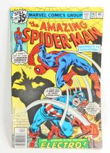 1978 THE AMAZING SPIDERMAN NO 187 COMIC BOOK - 35 CENT COVER