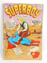 1963 SUPERBOY NO 106 COMIC BOOK - 12 CENT COVER