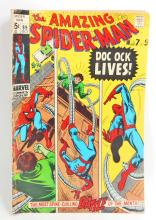 1970 THE AMAZING SPIDERMAN NO. 89 COMIC BOOK - 15 CENT COVER
