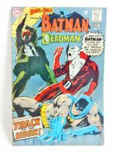 1968 BATMAN AND DEADMAN NO. 79 COMIC BOOK - 12 CENT COVER