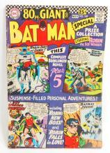 1966 BATMAN NO. 185 GIANT COMIC BOOK - 25 CENT COVER